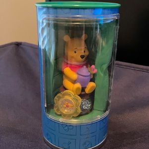 NWT RARE Winnie the Pooh and friends Watch toy tin